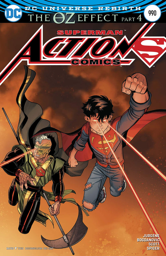 Action Comics #990 DC OZ EFFECT