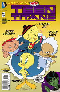 Teen Titans #14 Looney Tunes Cover