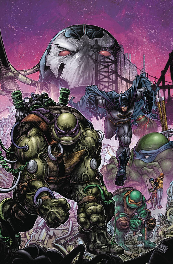 BATMAN TEENAGE MUTANT NINJA TURTLES II #4 (OF 6) (REBIRTH)