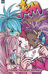 JEM & THE HOLOGRAMS COVERS TREASURY ED IDW PUBLISHING
