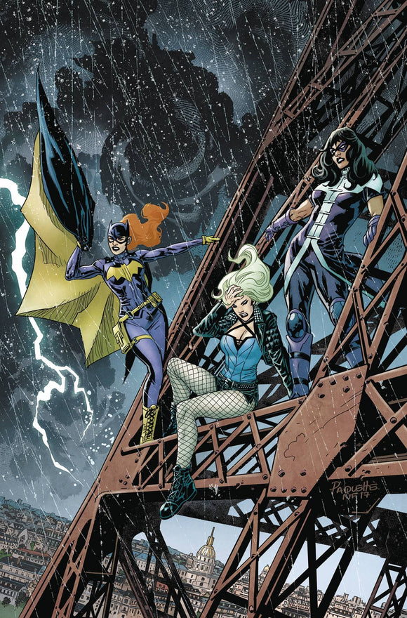 BATGIRL AND THE BIRDS OF PREY #18