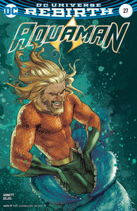 Aquaman (Issue #27 -Variant Cover by Joshua Middleton)