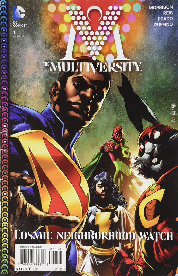 Multiversity #1 Cosmic Neighborhood Watch