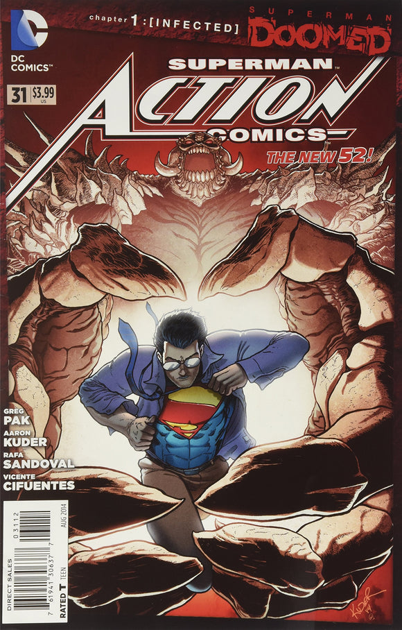 Action Comics #31 (DOOMED)