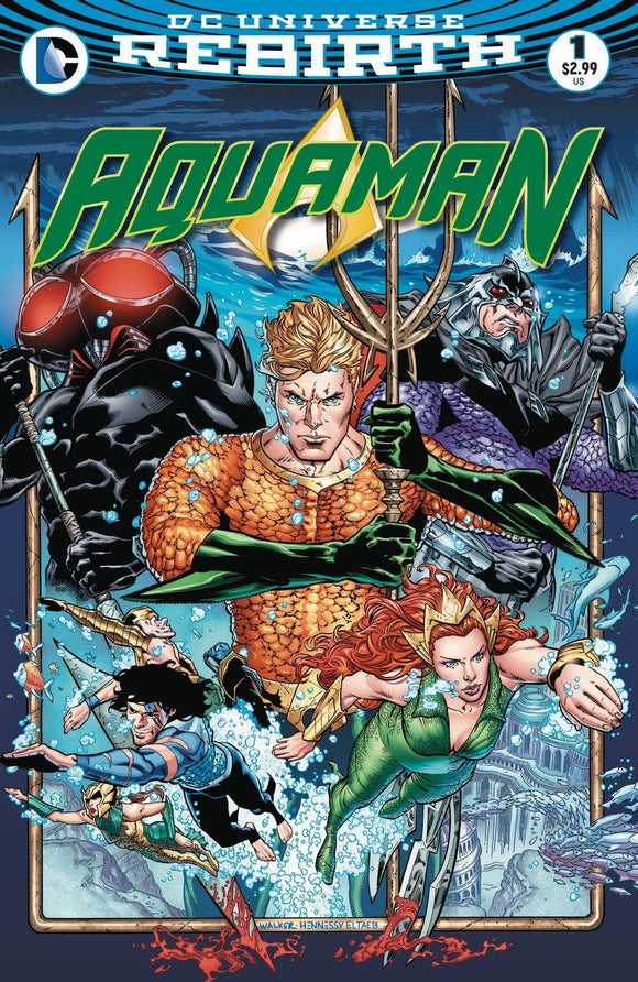AQUAMAN #1 VOL 6