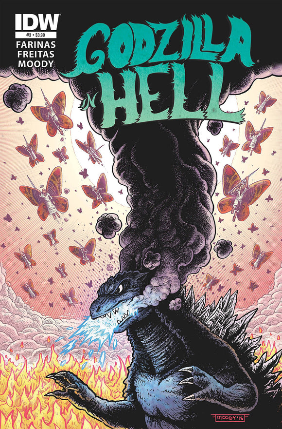 GODZILLA IN HELL #3 (OF 5)