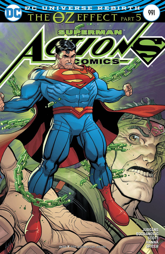 ACTION COMICS #991 LENTICULAR VARIANT (OZ EFFECT) DC