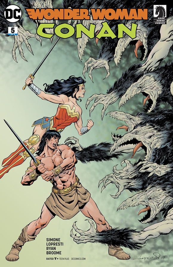 WONDER WOMAN CONAN #5