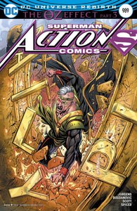 ACTION COMICS #989 VARIANT ED OZ EFFECT DC