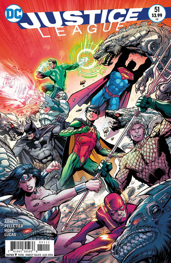 JUSTICE LEAGUE #51 DC COMICS