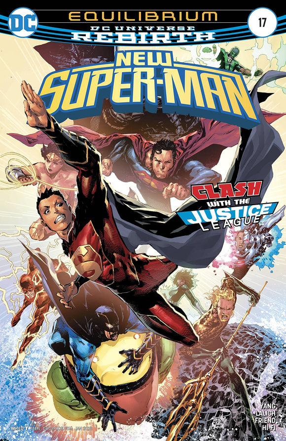 New Super Man #17