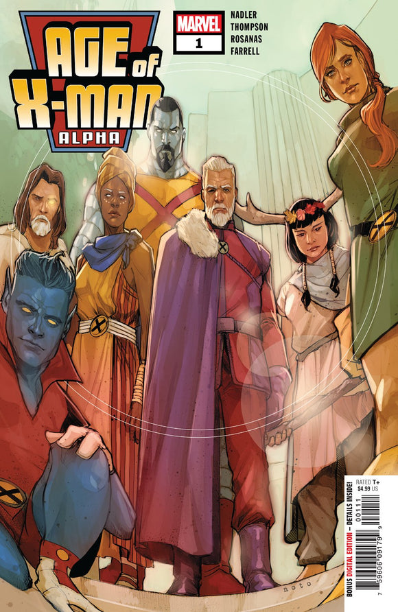 Age of X-Man #1 Alpha Marvel