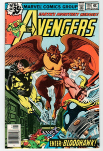 "Avengers #177 1978 ""Enter Bloodhawk!"""