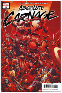Absolute Carnage #5 (of 5) 2019 Marvel