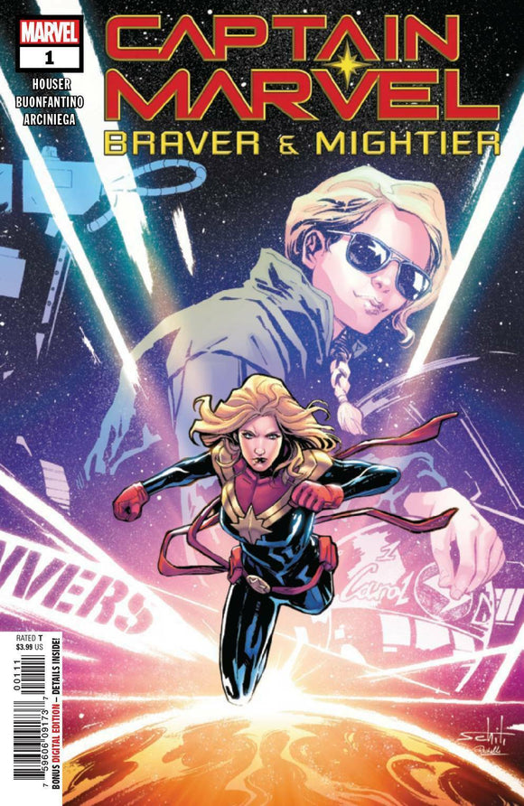 Captain Marvel Braver and Mightier #1 Marvel Comics