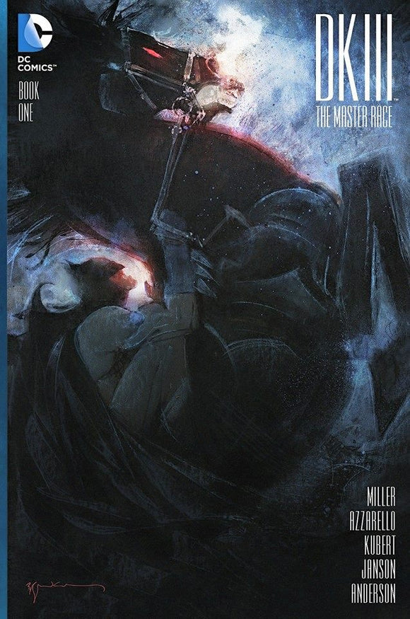Dark Knight III #1 Hypno Exclusive Sienkiewicz Variant Cover