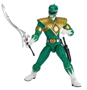 "Bandai Green Power Ranger Legacy 6.5"" Action Figure Mighty Morphin"