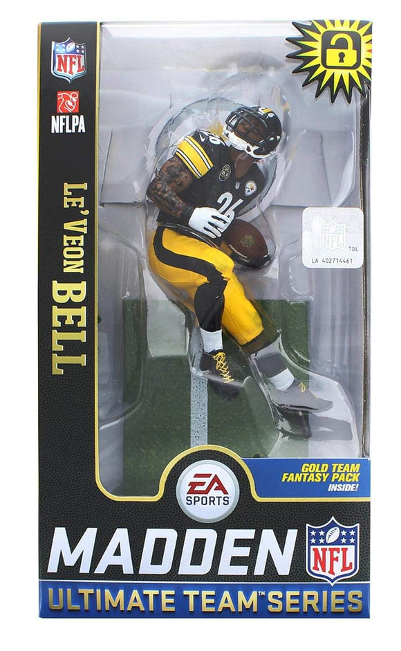 Le'Veon Bell Pittsburgh Steelers McFarlane Toys EA Sports Madden NFL 19 Ultimate Team