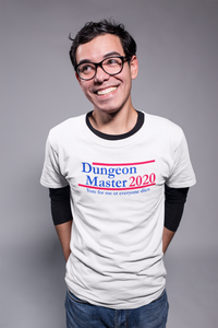 Dungeon Master 2020 Dungeons & Dragons Critical Fail Tee