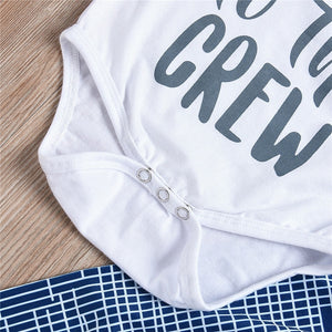New to the Crew Unisex 3pcs Outfit