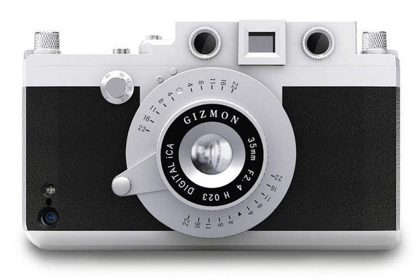 Use the Gizmon iCA 5 iPhone case to feel like a photographer again