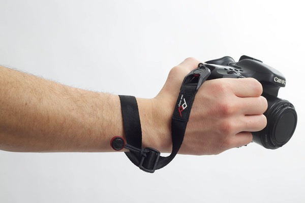 Camera Cuff attached to wrist