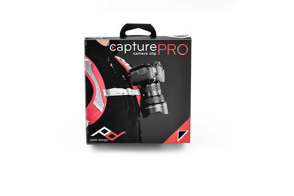 Professional packaging for the new Capture v2 Camera Clip