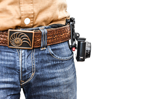 Use the same POV kit for compact cameras on a belt