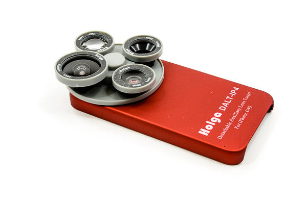 Choose the Holga Detachable Filter Wheel in either Red, White or Black