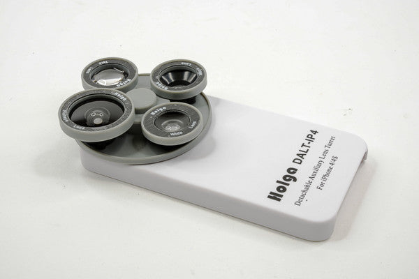 A snazzy White Holga Filter Wheel