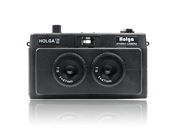 Holga 3D Stereo Film Camera (135 35mm Format) - HolgaDirect