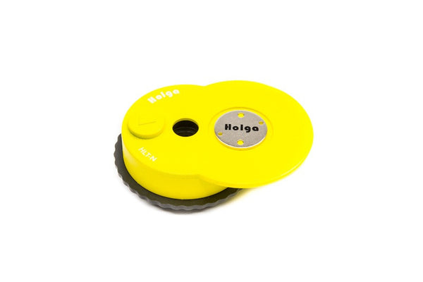The Holga HLT-N base unit in Yellow