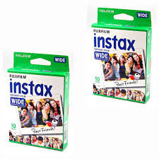 Fujifilm Instax Wide 2 package