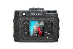 Retina LCD display of the Digital Holga 120D Camera