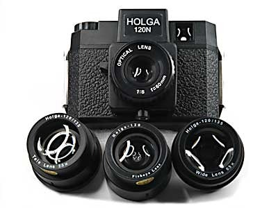 Holga 120N Camera and Lens Kit Bundle
