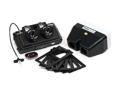 Holga 120 3D Stereo Camera Kit Bundle