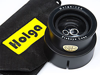 Holga Camera Fisheye Lens FEL-120 Accessory Set