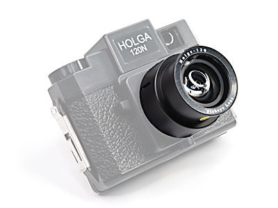 Holga 120N Camera Super Lens Kit Bundle