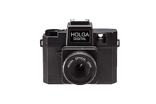 You can't more classic than the Holga Digital in Black