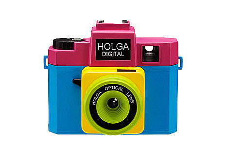 Holga Digital Camera - Mixed Color Model