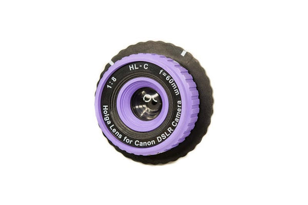 Holga Lens for Canon SLR - HL-C - Purple