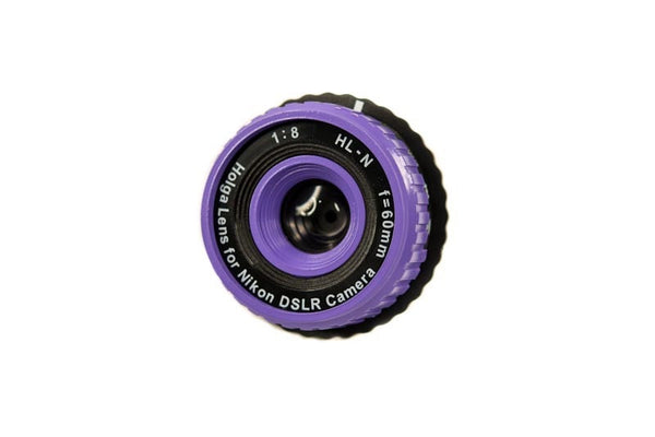 Holga Lens for Nikon DSLR HL-N - Purple