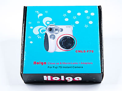 Holga Close Up & Macro Lens Kit CMLS-F7S for Fujifim Instax Mini 7s