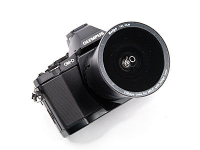 Holga fisheye lens for Olympus PEN