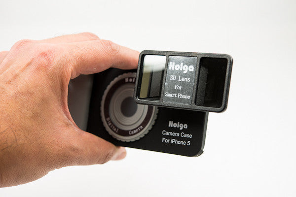 Create amazing 3D images with the Holga 3D Lens Kit