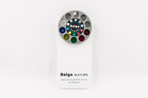 Holga iPhone 5 Detachable Lens Filter and Case - White