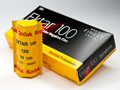 Kodak Ektar 100 Color Film (120 Format)
