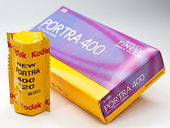 Kodak Portra 400 Color Negative Film (120 Format)
