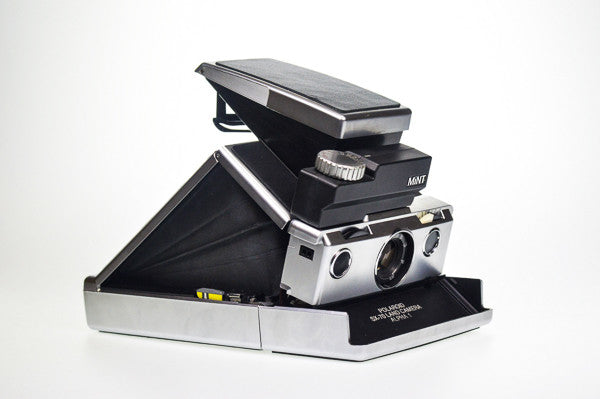 The Polaroid SLR670m with Time Machine