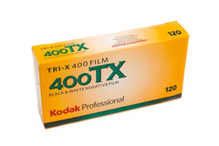 Kodak Tri-X 400 Black and White Film (120 Format)